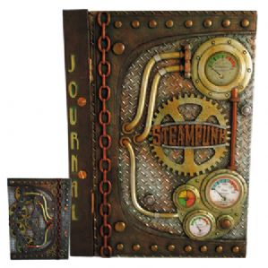 Steampunk Pipe Journal